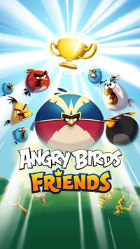 Angry birds friends apk download free arcade game for android angry birds friends poster voltagebd Images
