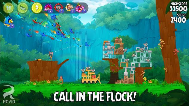 Angry Birds تصوير الشاشة 14