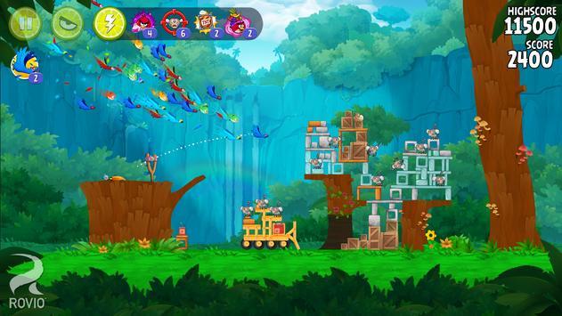 Angry Birds تصوير الشاشة 17