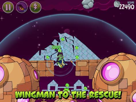 Angry Birds تصوير الشاشة 12