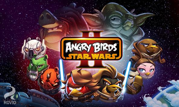 Angry Birds Star Wars II Free poster