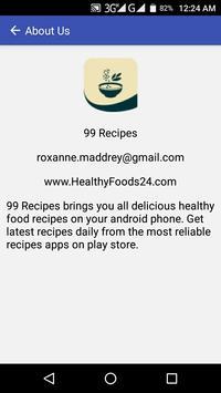 99 Recipes apk screenshot