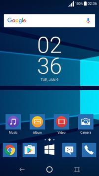 Windows Xperia™ Theme screenshot 1