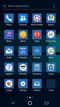Windows Xperia™ Theme screenshot 3