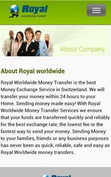 Royal world wide screenshot 1