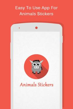 Animals Stickers poster