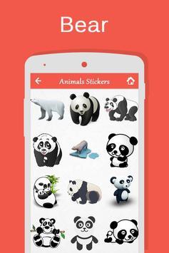 Animals Stickers apk screenshot