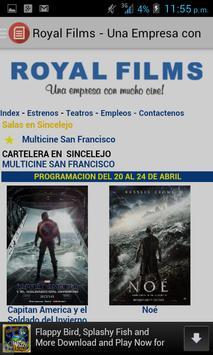 Royal Films screenshot 1