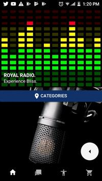 royal radio online. poster