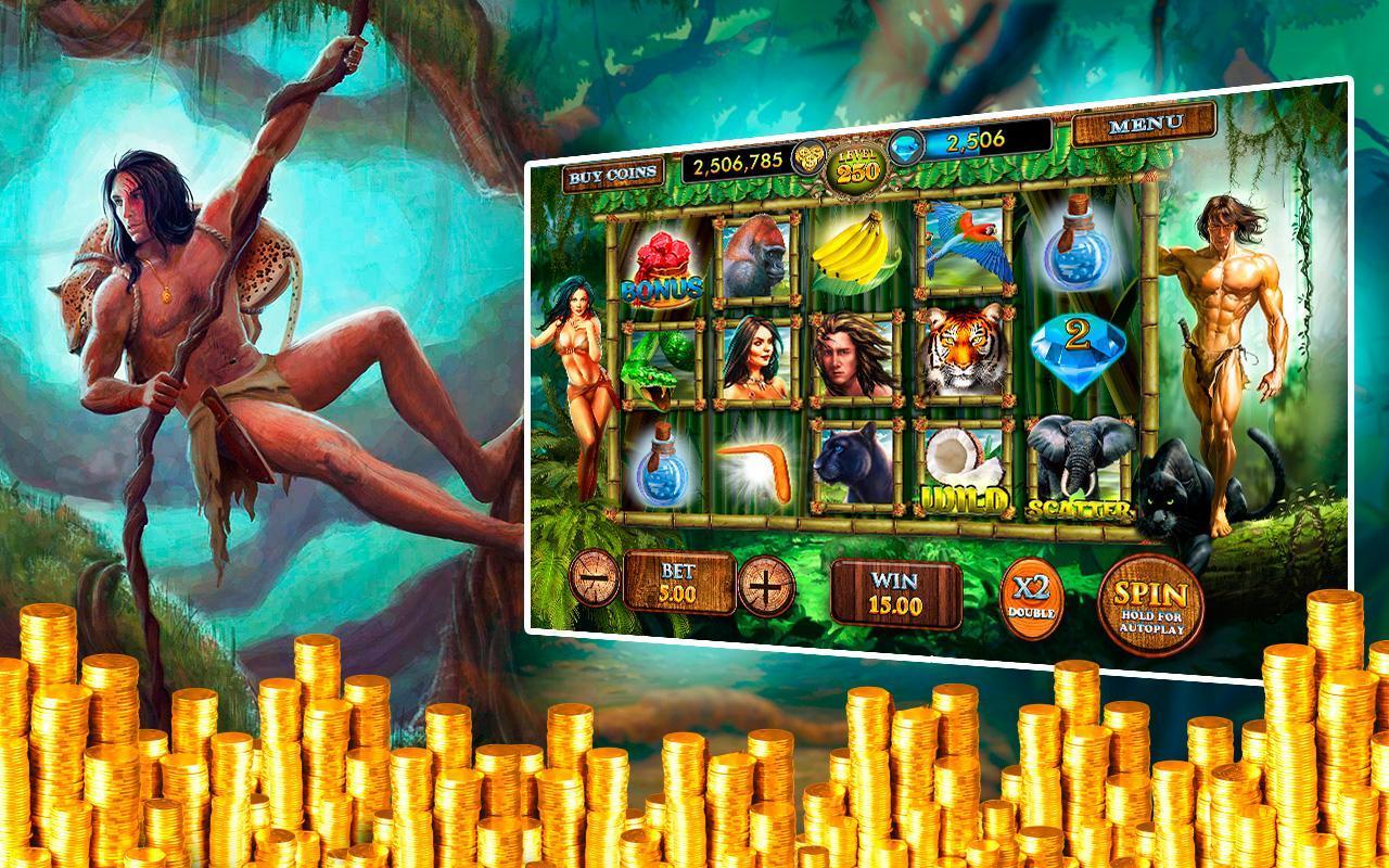Tarzan Casino Games