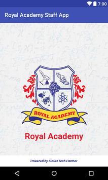 Royal Academy Virar Staff App poster