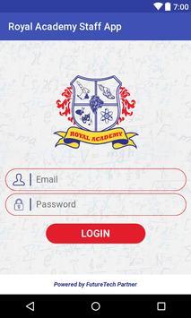 Royal Academy Virar Staff App screenshot 1
