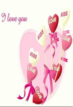 3D Love Wallpapers Poster Apk Screenshot