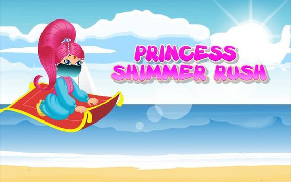 Princess Shimmer Rush 👸 apk screenshot