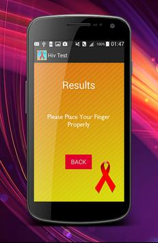 Best Free HIV test prank screenshot 4