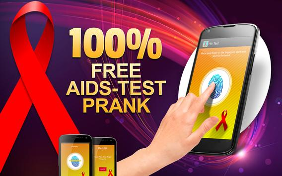 Best Free HIV test prank poster