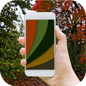 Colors Changing Live WP With 3D Cube LWP icon