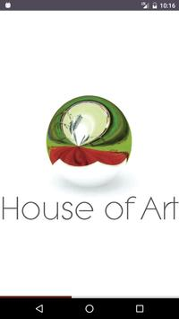 House of art poster