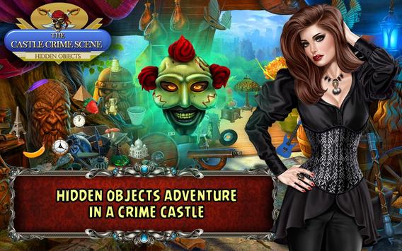 Hidden Object Games Free 300 levels : Castle Crime poster