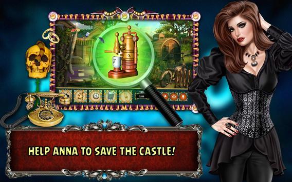 Hidden Object Games Free 300 levels : Castle Crime screenshot 2