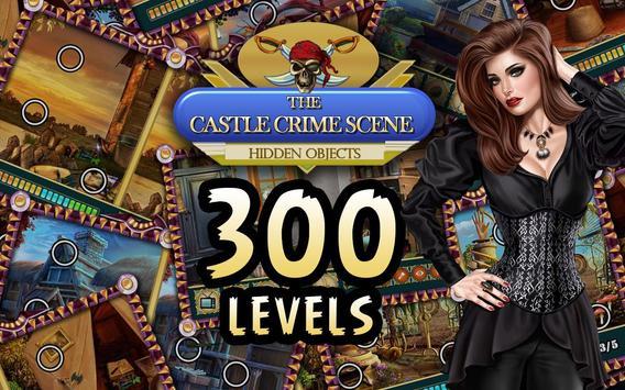 Hidden Object Games Free 300 levels : Castle Crime screenshot 4