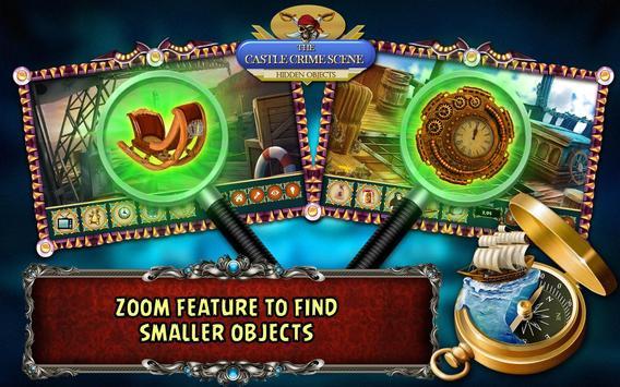 Hidden Object Games Free 300 levels : Castle Crime screenshot 8