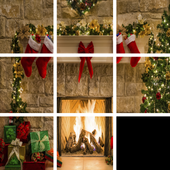 Christmas Sliding Puzzler icon