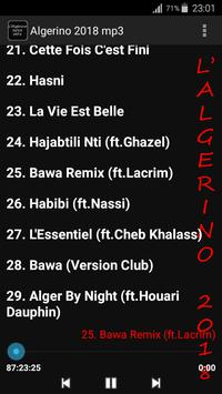 L'Algerino 2018 mp3 apk screenshot