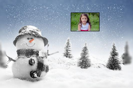 Snowfall Photo Frames screenshot 1