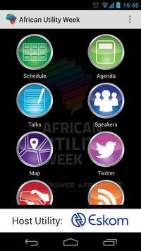 African Utility Week poster