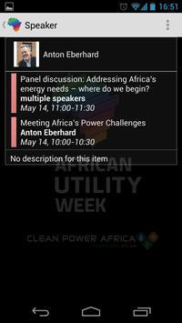 African Utility Week screenshot 2