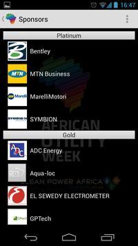 African Utility Week screenshot 4