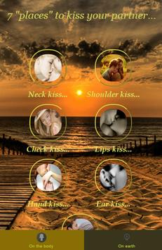7 places to kiss your partner poster