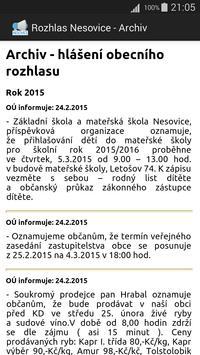 Rozhlas Nesovice apk screenshot