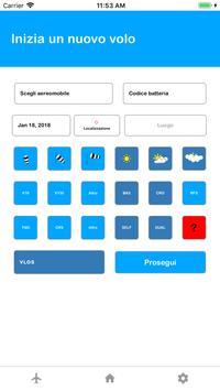 Logbook Drone screenshot 1