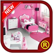 Girl Bedroom Design Ideas 2017 icon