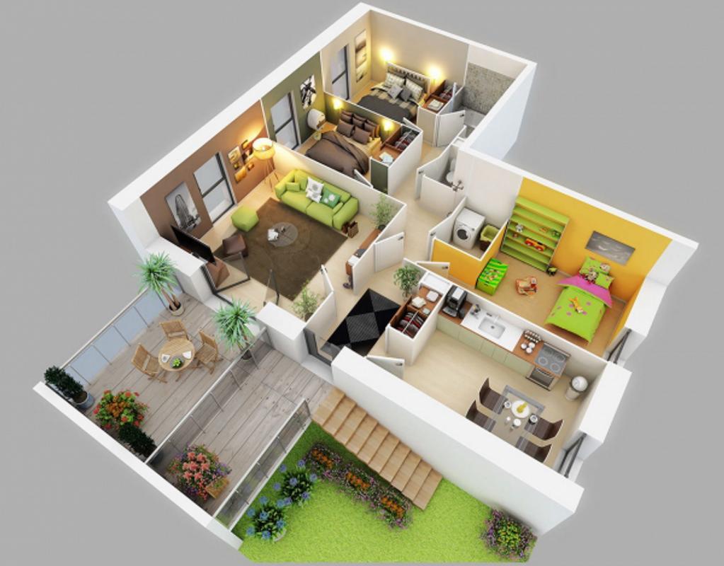 Home design 3d poster