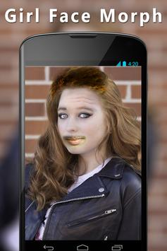 Girl Face Morph Maker poster