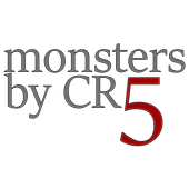 Monsters By CR 5 icon