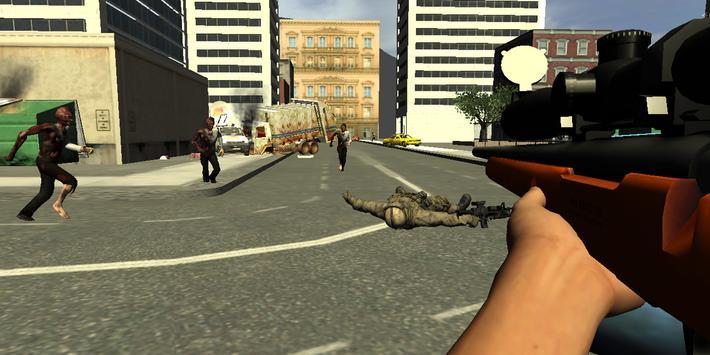 Zombie Sniper Alpha Strike Six screenshot 14