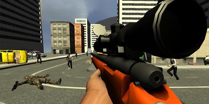 Zombie Sniper Alpha Strike Six screenshot 15
