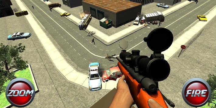 Zombie Sniper Alpha Strike Six screenshot 13