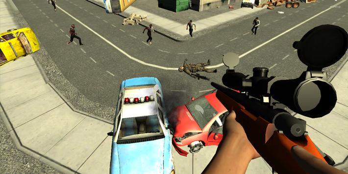 Zombie Sniper Alpha Strike Six screenshot 3