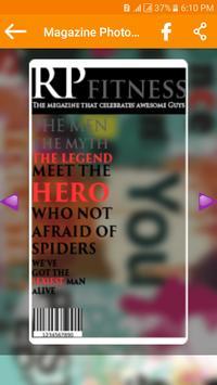 Magazine Photo Frames screenshot 2