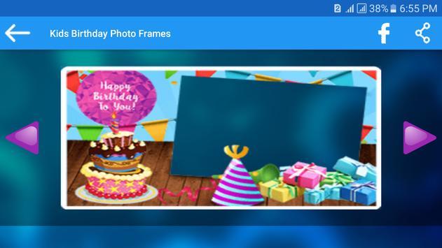Kids Birthday Photo Frames apk screenshot