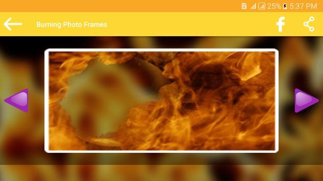 Burning Photo Frames apk screenshot
