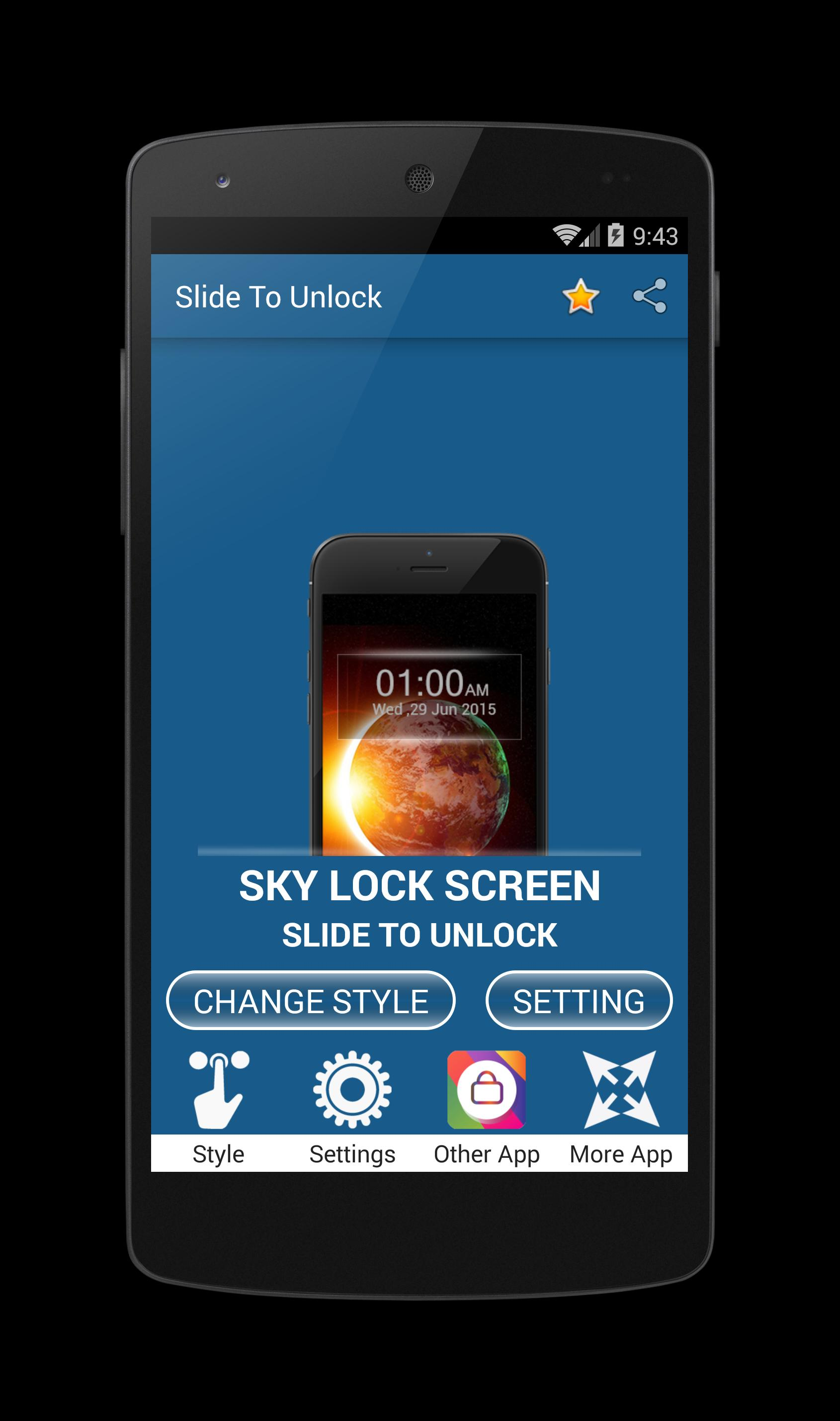 slide to unlock pattern lock for Android - APK Download