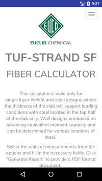 Euco FiberCalc poster