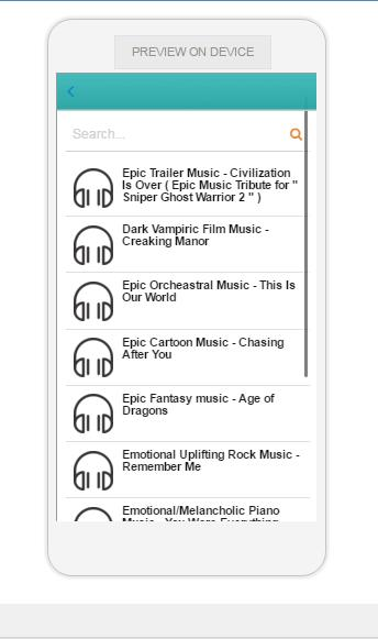 Epic Music for Android - APK Download
