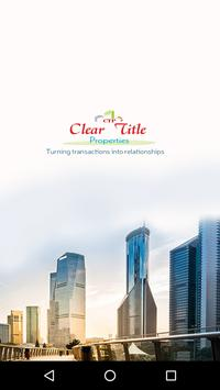 Clear title properties poster
